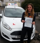 Jess passed with Dan Joll Driver Training