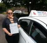 Alex passed with Dan Joll Driver Training