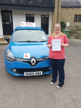 well done Cathie on a great pass so happy for you