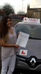 New passer added 14/06/2015 passed with Dms School Of Motoring