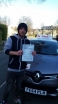 mark 06/07/2015 passed with Dms School Of Motoring