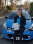 Haley passed with Dms School Of Motoring