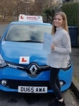 Lisa passed with Dms School Of Motoring