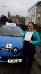 Laura passed with Dms School Of Motoring