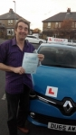 Andy passed with Dms School Of Motoring