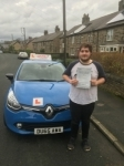 evan passed with Dms School Of Motoring