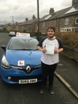 evan franco passed with Dms School Of Motoring