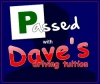 Tim passed with Daves driving Tuition