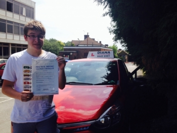 Well done Matt all your hard work paid off4 minors <br /> <br /> In Barnet-great