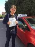 William   15/5/18. Barnet passed with Diana's School of Motoring
