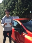 Adam 13/7/18 Barnet passed with Diana's School of Motoring