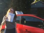 Alice 16/2/18 passed with Diana's School of Motoring