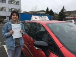 Kat 2/1/18 Borehamwood passed with Diana's School of Motoring