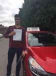 Raj 8/6/18 Barnet passed with Diana's School of Motoring