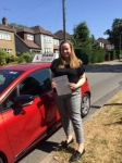 Claudia 3/7/18 Barnet passed with Diana's School of Motoring