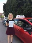 Sasha 31/7/18 Barnet passed with Diana's School of Motoring