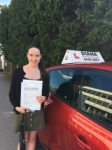 Charlotte 2/8/18 Barnet passed with Diana's School of Motoring