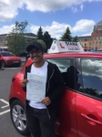 Dhara 14/6/18 Borehamwood passed with Diana's School of Motoring
