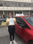Rosie 7/8/18 Barnet passed with Diana's School of Motoring