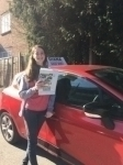 Daphni 26/3/18 Barnet passed with Diana's School of Motoring