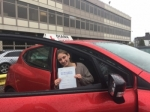 Jessica 27/4/18 passed with Diana's School of Motoring