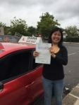 Judy 23/8/18 Barnet passed with Diana's School of Motoring