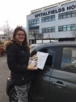 Annabelle 5/1/18 passed with Diana's School of Motoring