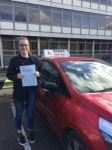 Emily 23/3/18 Barnet passed with Diana's School of Motoring
