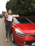 Becky 1/11/16 passed with Diana's School of Motoring