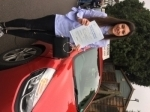 Rosie passed with Diana's School of Motoring