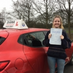 Annie 8/2/17 passed with Diana's School of Motoring