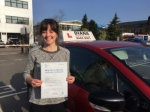 heather 7/4/17 passed with Diana's School of Motoring