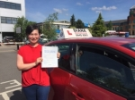 Jing passed with Diana's School of Motoring