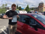 Jack 23/7/17 passed with Diana's School of Motoring