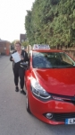 Carly 7/7/17 passed with Diana's School of Motoring