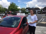 Jasmine 10/7/17 passed with Diana's School of Motoring
