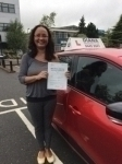 Sarah 17/8/17 passed with Diana's School of Motoring