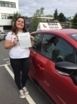izzy 24/8/17 passed with Diana's School of Motoring