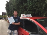 Freddie 31/8/17 passed with Diana's School of Motoring
