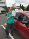 Freya 15/9/17 passed with Diana's School of Motoring