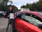Georgia 21/9/17 passed with Diana's School of Motoring