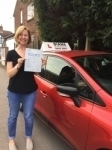 Sarah 24/11/17 Barnet passed with Diana's School of Motoring