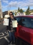 Evie 1/12/17 Borehamwood passed with Diana's School of Motoring