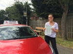 Emily 21/7/16 passed with Diana's School of Motoring