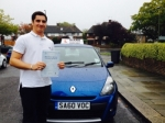 Gianluca 8/10/14 passed with Diana's School of Motoring