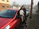 Nadia passed with Diana's School of Motoring
