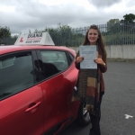 Jess 24/5/16 passed with Diana's School of Motoring
