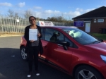 Joanna 15/2/16 passed with Diana's School of Motoring