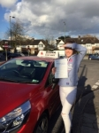 Lauren 23/2/16 passed with Diana's School of Motoring