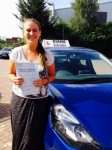Justyna 31/07/14 passed with Diana's School of Motoring